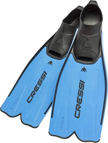Cressi Rondinella Flossen für Schnorcheln und Schwimmen Italienische Qualität seit 1946, blau