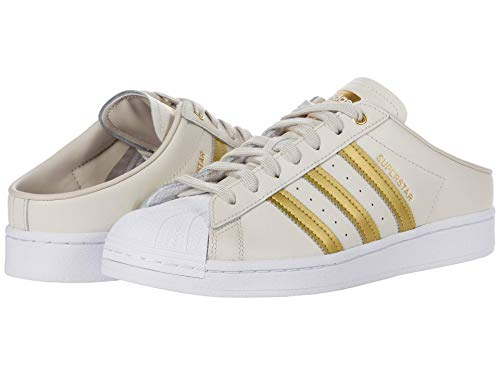 adidas Superstar Mule Clear Brown/Gold Metallic/Footwear White 8 B (M)