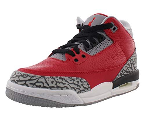 Nike CQ0488-600, Zapatillas Deportivas Hombre, Fire Red/Fire Red-Cement Grey-Black, 34 EU
