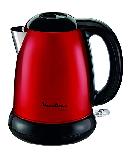 Moulinex Subito BY540510 Red Kettle / Edelstahl