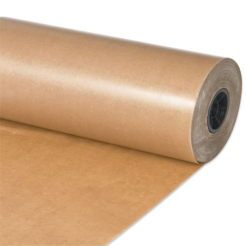 Aviditi Waxed Paper Rolls, 18 Inches, Kraft, 1 Roll, Non-Abrasive, Made in The USA