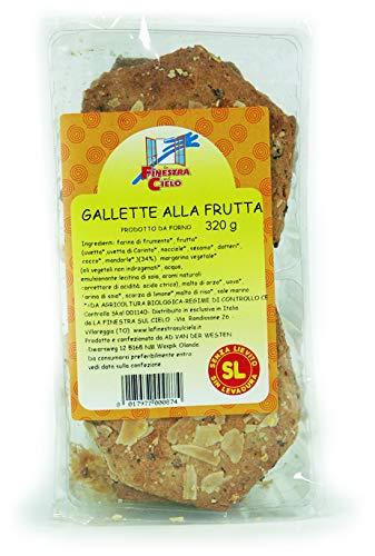La Finestra Sul Cielo Gallette alla Frutta Bio - 320 g