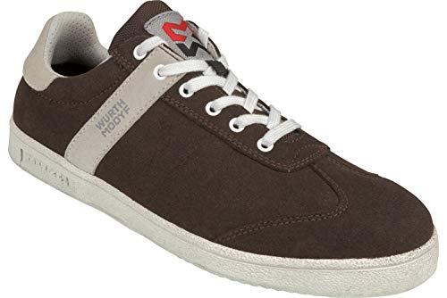 WÜRTH MODYF Berufsschuhe EN 20347 O2 Dorado braun: Der extrem leichte Schuh ist optimal für Außenbereiche geeignet und in Größe 40 erhältlich. Der genormte Schuh ist jetzt für Sie verfügbar.