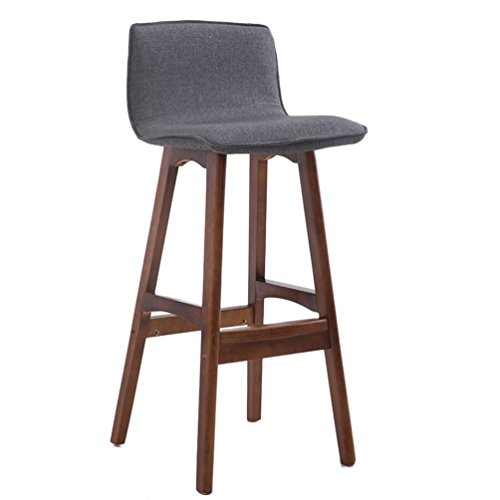 Crazy stool Silla de la Caja registradora, Barra de Madera del hogar mostrador de Respaldo Creativo sillón Bar Restaurante Tienda de Ropa para el hogar Silla para Bar (Color : #2)