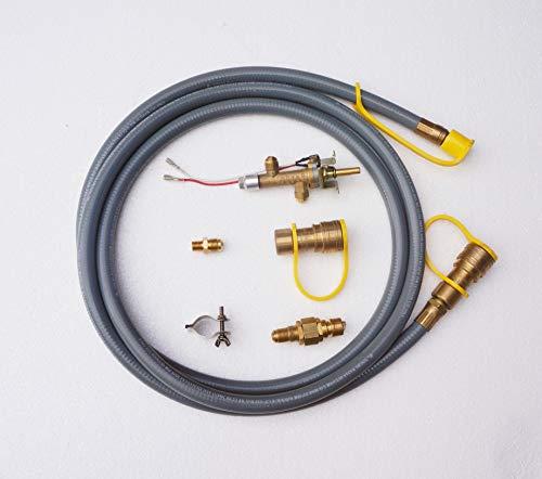 Bond Manufacturing 52066 65,000 BTU Natural Gas Conversion Kit, Gray