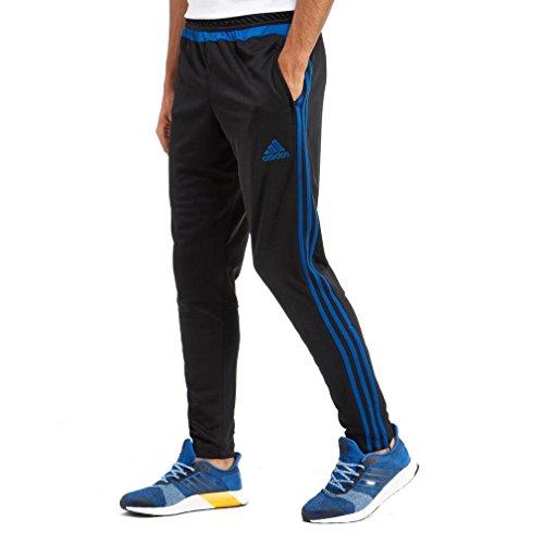 Adidas Uomo Tempo Libero abbigliamento pantaloni da allenamento, Uomo, Torwarthose Tiro15 Training Pants, Black/Sesosl, L