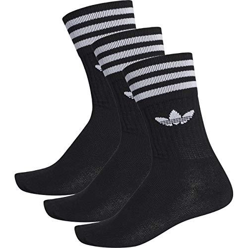 Adidas Sokken Solid Crew Pack - zwart