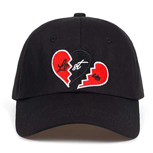 TRGFB baseballcap Liefde borduurwerk papa hoed gebroken hart baseballmuts hoge kwaliteit hysteresboomwol zwart golfcap hoed garros casquette