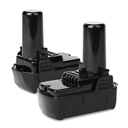 CELLONIC 2X Batería Premium 10.8V, 1.5Ah, Li Ion Compatible con Hitachi DS 10DFL, DS10DAL,WH10DFL,CR10DL, WH 10DL bateria de Repuesto BCL1015, L1015, 329369, 329370, 329371, 329389, 331065 Pila