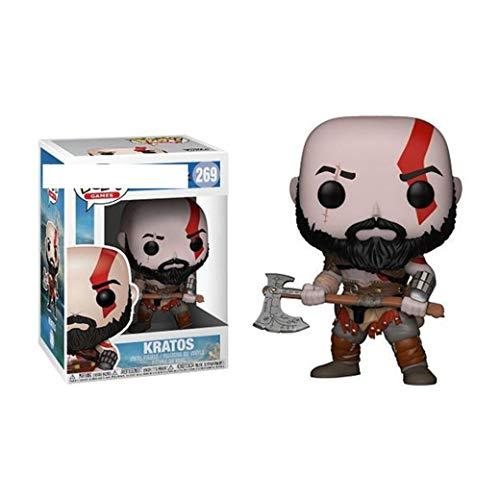 SBZH God of War Kratos Toys Estatuilla Muñeca Juegos Estatuas