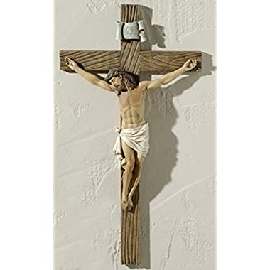 Roman 20.5  Joseph's Studio Religious Wall Cross Crucifix