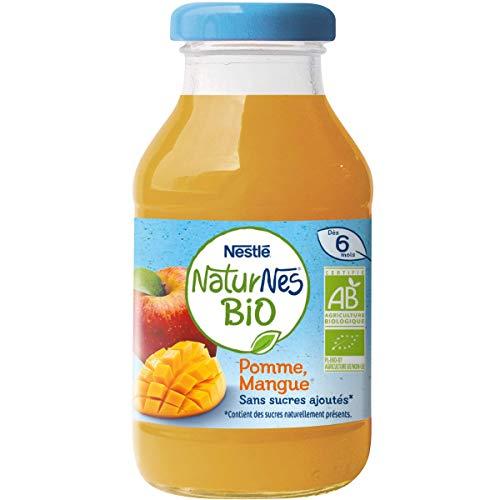 Nestlé Bébé Naturnes Bio Boisson Pomme Mangue Dès 6 Mois 200 ml