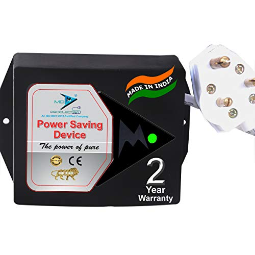 MD Proelectra (MDP08) - Power saver (1KW) - New Updated Electricity Saving Device (Electricity Saver) For Residential and Commercial - MADE IN INDIA