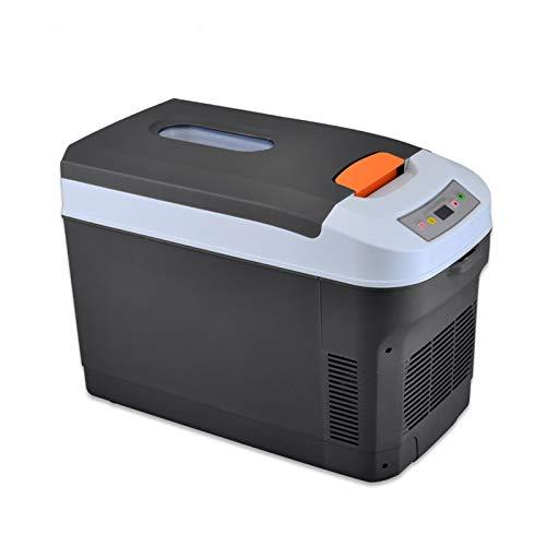 YSXFS Mini Nevera, 25l Coche Mini Refrigerador Refrigerador Y Calentador, Sistema Termoeléctrico Alimentado con AC/DC Frigorífico Pequeño para Coches Casas Oficinas Y Dormitorios(Color:Negro)