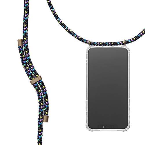 KNOK Funda con Cuerda para iPhone 6 Plus/iPhone 6S Plus - Funda Colgante para movil Carcasa - Colgar movil Cuello Funda con Correa Colgante con Cordon para Llevar en el Cuello