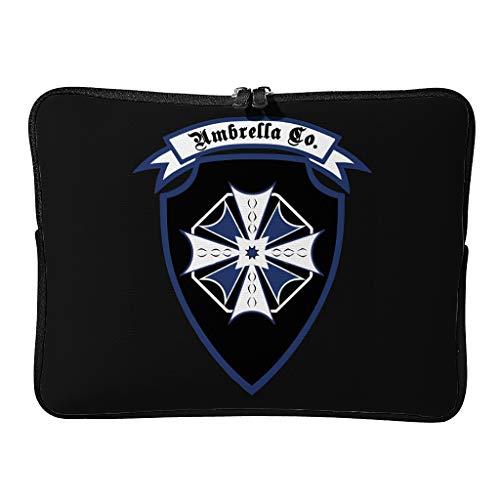Everyday Corporation of Umbrella Laptop Bags Unique Water Resistant - Terror Scary Tablet Cases Adecuado para viajeros, blanco (Blanco) - XJJ88-DNB-8