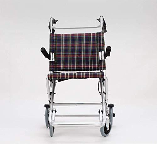 CHAIR Leichte faltrollstuhl Aluminium Rollstuhl Transportgriff Net Tragen Cross Border Reisen Rollstuhl mit Handbremse,Dreißig
