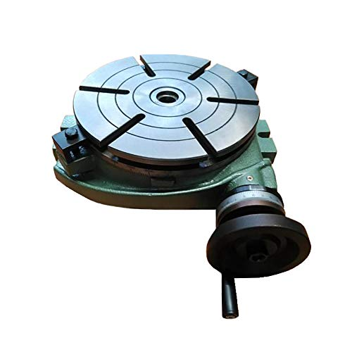 Best Buy! Milling Machine Rotary Table Rotary Indexing Dial Horizontal Fixed Scale Table (Working Ta...