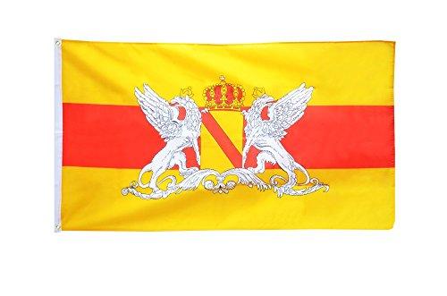 Flaggenfritze Fahne/Flagge Deutschland Großherzogtum Baden 2 + gratis Sticker