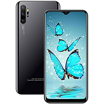 (6.53inch IPS Full-Screen), P40pro(2020) Android Smartphone, 3GWCDMA: 850/2100/1900MHZ SIM Card Band, 2GB RAM 16GB ROM, Unlocked Cell Phone,(Please Confirm That Your SIM Card complies) (Black)