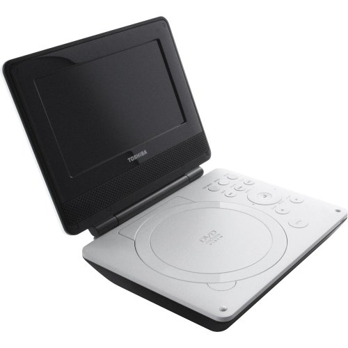 Find Discount Toshiba SDP74S 7-Inch Portable White DVD Player (White)