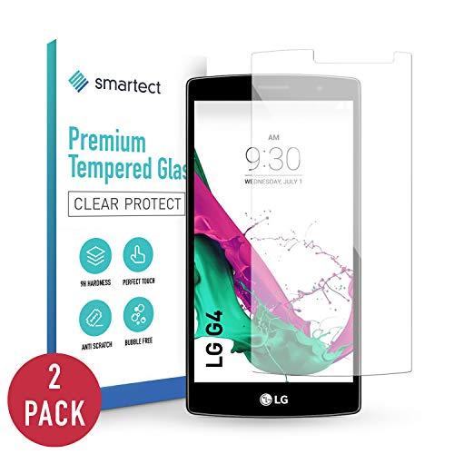 smartect Panzerglas kompatibel mit LG G4 [2 Stück] - Displayschutz mit 9H Härte - Blasenfreie Schutzfolie - Anti Fingerprint Panzerglasfolie