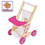 Eichhorn 100002596 EH Puppenwagen-100002596 Puppenwagen mit Sitzfläche aus Stoff, geeignet für...