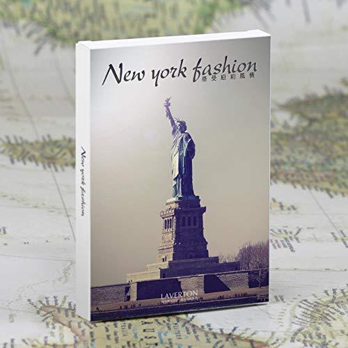 30sheets/LOT Maak een reis naar New York Fashion ansichtkaart/wenskaart/wenskaart/Fashion Gift