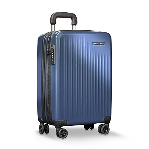 Briggs & Riley Sympatico-Hardside CX Expandable Carry-On Spinner Luggage, Marine Blue, 21-Inch