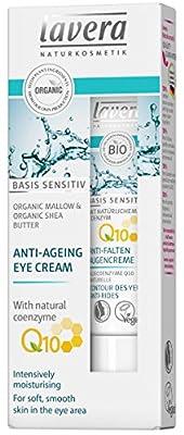 lavera Anti-Ageing Eye Cream Q10 ∙ Reduces Signs Of Premature Aging ∙ Vegan ✔ Organic Skin Care ✔ Natural & Innovative Cosmetics ✔ 15ml from Laverana