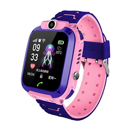 YDL Smart Watch Kids Teléfono Watch SmartWatch para Niñas para Niños con Tarjeta con Foto Impermeable IP67 Regalo para iOS Android (Color : 2 Waterproof)