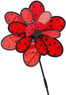 MYLOVE Kids Double Layer Windmill Wind Spinner Pinwheel Home Garden Yard Decoration Outdoor Toys