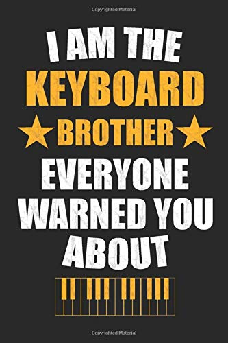 The Keyboard Brother: Dot Grid Journal or Notebook (6x9 inches) with 120 Pages