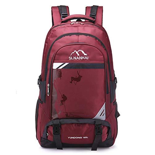 N-B Large Capacity Waterproof Backpack Outdoor Travel Unisex Mountaineering Bag Light Travel Luggage Bag
