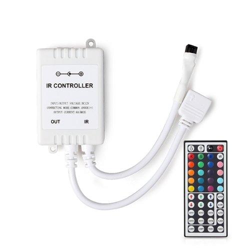 COLEMETER DIMMER CONTROLLORE DI LUCE STRISCIA LED RGB + TELECOMANDO 44 TASTI