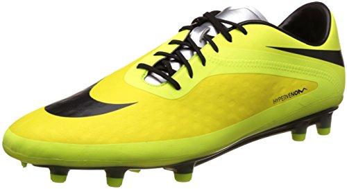 Nike Unisex-Erwachsene Hypervenom Phatal FG Schuh, Vibrant Yellow Black Metallic Silver Volt, 9 EU