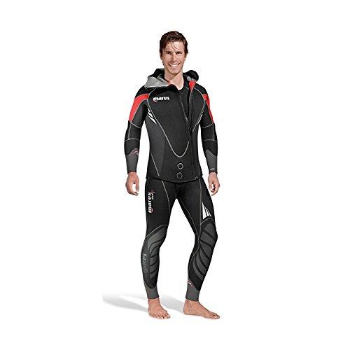 Mares Wetsuit Dual 5 - Traje de Buceo para Hombre, Color Negro, Talla S6