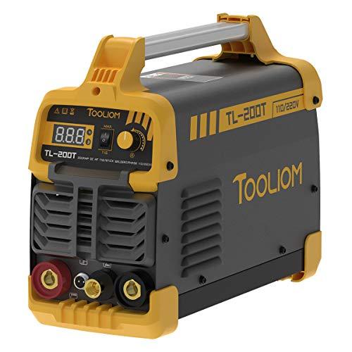TOOLIOM 200A TIG Welder 110V/220V Dual Voltage...