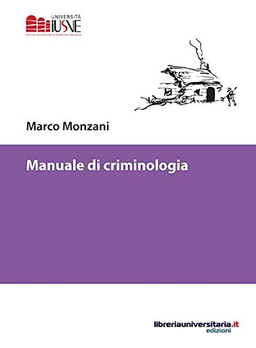 Manuale di criminologia