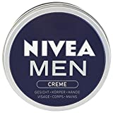 Nivea Men taza de crema de 150 ml, 4-pack (4 x 150 ml) - Version importada (Alemania)