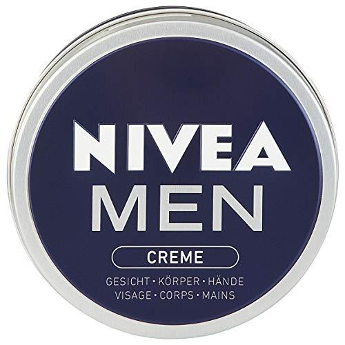 Nivea Men Creme im 4er Pack (4 x 150 ml), Hautcreme für Gesicht, Körper & Hände, pflegende Feuchtigkeitscreme mit frisch-maskulinem Duft
