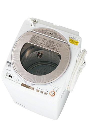 シャープ 洗濯乾燥機 タテ型 穴なし槽 9Kg ゴールド ES-TX9A-N