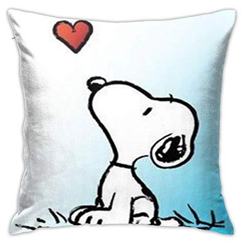 qidong Love Pillowcase Covers 18x18 Decorative Sofa Car Soft