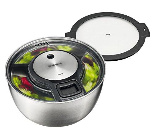 GEFU 00114 Salatschleuder SPEEDWING® + Frischhaltedeckel