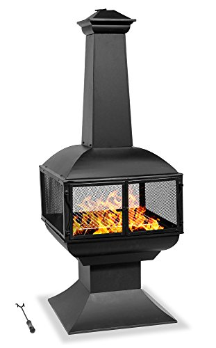 Centurion Supports Fireology TAURUS Modern Garden & Patio Heater, Fire Pit and Barbecue