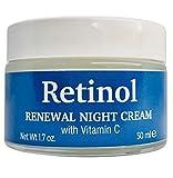 DELFANTI MILANO - RETINOL Crema facial de noche antiedad, con vitamina C, Made in Italy 50 ml