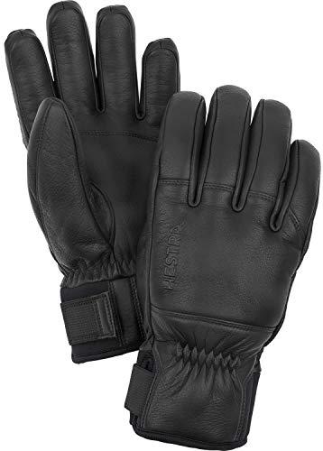 HESTRA Herren Omni 5-Finger Handschuh, Black, EU 10