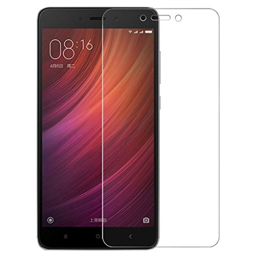 iCoverCase XiaoMi Redmi Note 5A Screen Protector [2 Pack] HD Hard Tempered Glass Ultra Clear Shatter Proof Screen Protector [Case Friendly] [Easy Install] [Anti-Scratch] for XiaoMi Redmi Note 5A