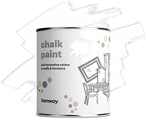 Hemway - Peinture effet craie - finition mate/style vintage - pour murs/meubles - 14 couleurs...