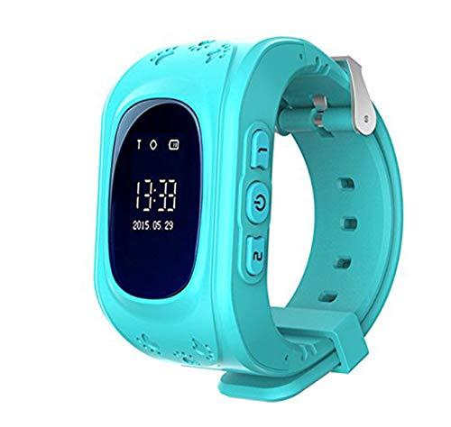 Niños Smartwatch Teléfono Localizador GPS, Reloj de Pulser